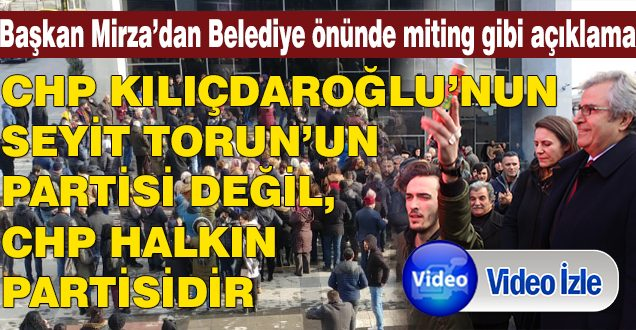 MİRZA'DAN VERYANSIN (VİDEO HABER)